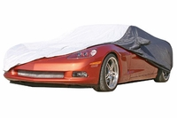 05-13 Weathershield Two-Tone Car Cover w/Reflective Welting