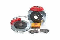 "05-13 Wilwood 6-Piston 14"" Front Big Brake Kit - Red Calipers"
