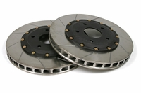 "05 - 13 Z51 Front 14"" (13.4"") 2pc Slotted Brake Rotors"