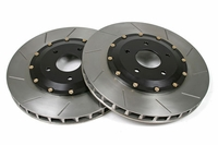 "06 - 13 Z06/Grand Sport Front 14"" 2pc Slotted Brake Rotors"