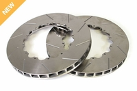 "06 - 13 Z06/Grand Sport Front 14"" Slotted Brake Rotor Replacement Rings"
