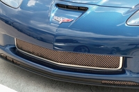 06-13 Z06 Laser Mesh Stainless Grill