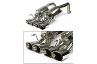 "06-13 Z06/ZR1 B&B Fusion Exhaust System - 4.5"" Oval Tips"
