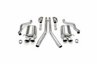 "09-13 Corsa Touring Exhaust System - Quad 3.5"" Tips"