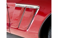 10-13 Grand Sport 6-pc Laser Mesh Side Fender Inserts