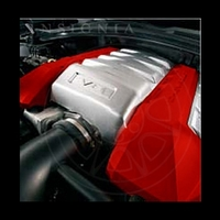 2010-2014 Camaro Engine Covers - Victory Red