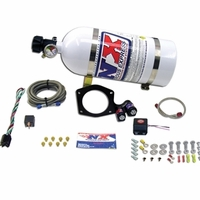 2010 - 2014 Camaro Nitrous Oxide - NX 35-150HP System w/10LB. Bottle and LS3 Throttle Body Injection Plate