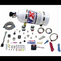 2010 - 2014 Camaro Nitrous Oxide - NX Universal Fly by Wire Single Nozzle 35-150HP System w/ 10LB. Bottle and TPS Switch