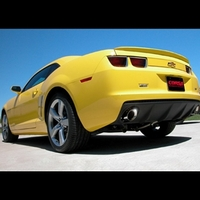 """2010 Camaro 3.6L V6, Sport Cat-Back System with XO-Crossover, 3.5"""" Pro-Series Tips for Automatic & Manual Transmissions for use with factory ground effects"""