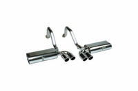 97-04 B&B RT66 Tri-Flo Exhaust System - Round Tips