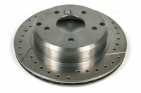 97-13 Hiperf Drilled & Slotted Brake Rotor
