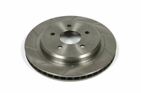97 - 13 Slotted Rear One Piece Brake Rotors