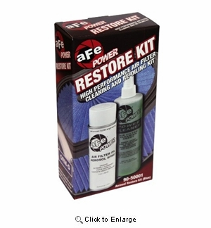 Corvette Air Filter Cleaning/Recharge Kit - Blue