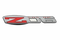 "Z06 505hp Vinyl Decal (5""X1"")"