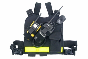 1246 DUAL-TWIN RADIO RADIO CHEST HARNESS