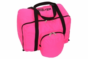 196XL-ECONO GEAR BAG IN PINK WITH POCKET