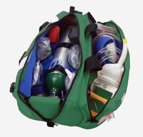 838GR-PKT OXYGEN ROLL BAG WITH SIDE POCKET