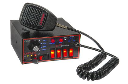 Carson SC-407 Enforcer New Updated Full Featured Siren & Light Control