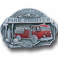 Collector Pin Volunteer Fire Fighter