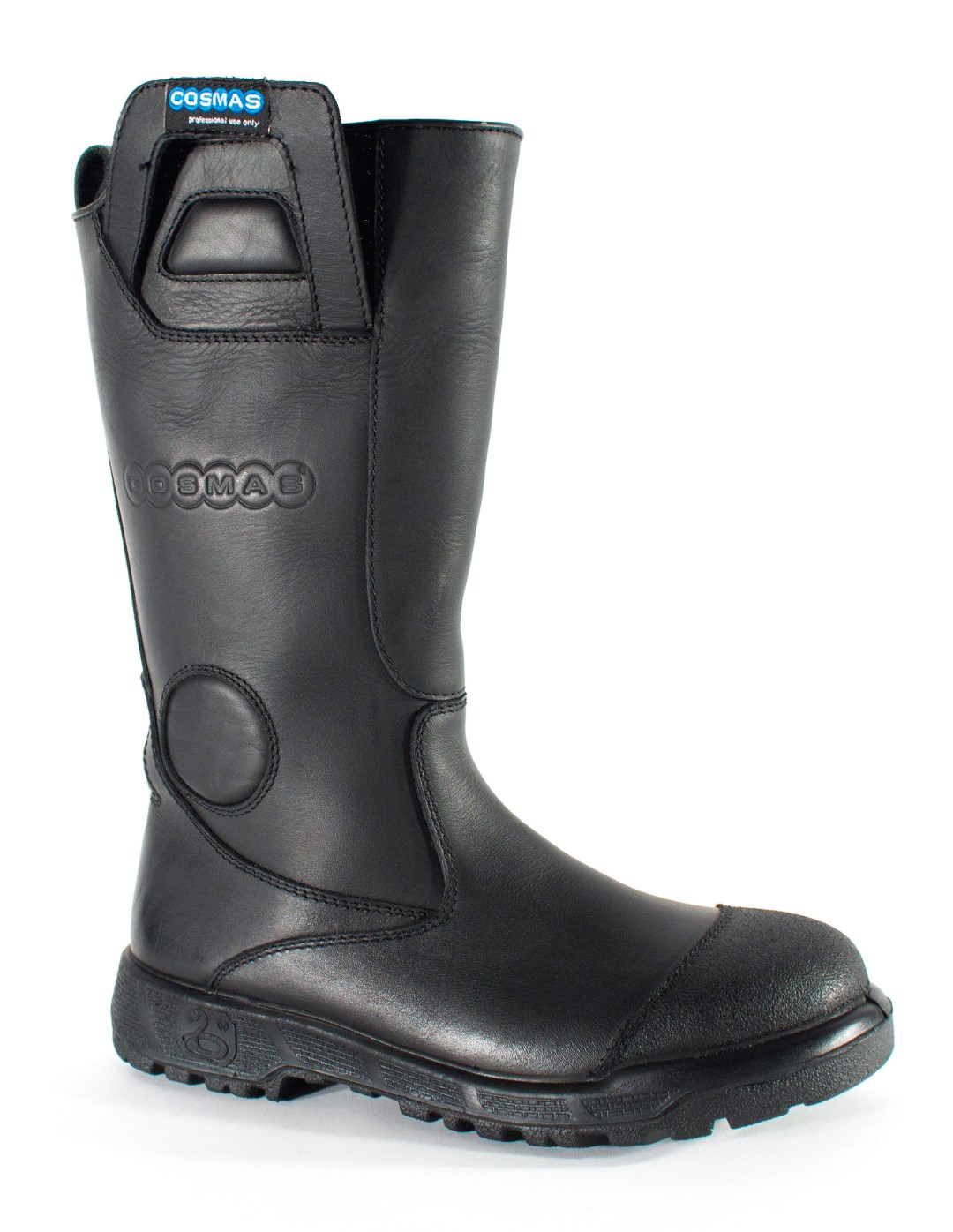 Apollo 14 Inch Leather Bunker Boot