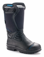Cosmas Men's Vulcan 14 Inch Leather Kermal Bunker Boot, NFPA