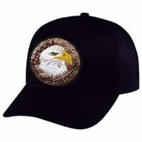 Defenders of Freedom 3 Inch Circle Tribute Hat