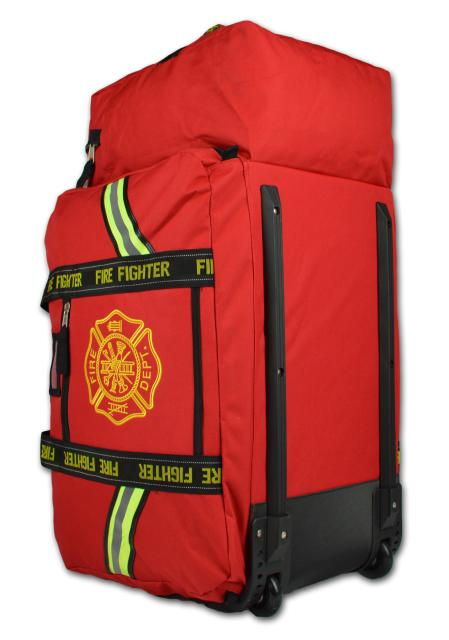 Deluxe Xxl Pink Turnout Gear Bag With Wheels