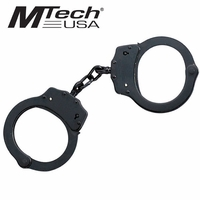 Double Lock Handcuffs with Key - BLACK (THIS ITEM IS ON BACK ORDER TILL MID OF MAY 2017)