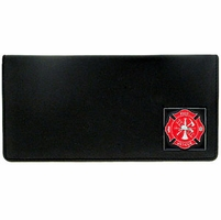 Executive Checkbook Cover Fire Fighter