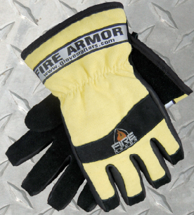 Fire Armor Leather & Kevlar Fire Glove - Natural Color