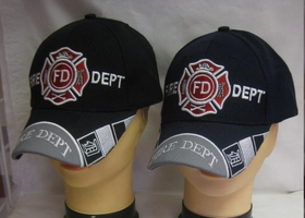Fire Department Embroidered Hat