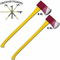 Fire Hooks Unlimited 8 LB Fiberglass Flat Head Axe