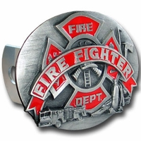 Firefighter Hitch & License Plate Covers