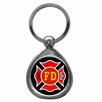Firefighter Keychains & Jewelry
