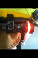 Firefighter LED Flashlight & Helmet Mount Combo