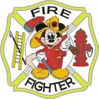 Firefighter Mickey Mouse