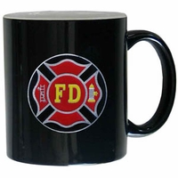 Firefighter Mugs & Glassware