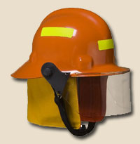 First Due Firefighter Helmet - NFPA With Face Shield