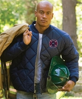 Game-1221-J The Bravest Diamond Quilt Jacket