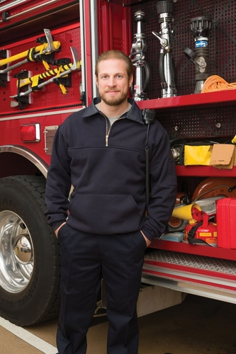 Game-850-P Firefighter Work Shirt With Pouch Pocket