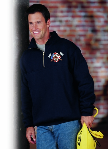 Game-870-T The Firefighters ZIP Turtleneck