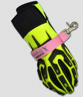 Heavy Duty PINK Firefighter Glove Straps