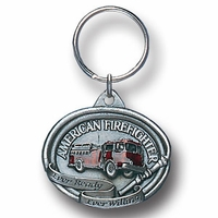 Key Ring American Fire Fighter