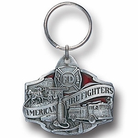 Key Ring Fire Fighter