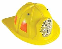 Kids Yellow Firefighting Helmet
