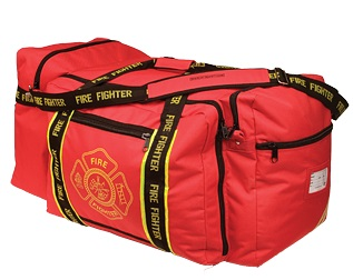 LARGE Red Firefighter Gear Bag