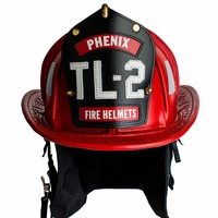 Leather Fire Helmets - Traditional