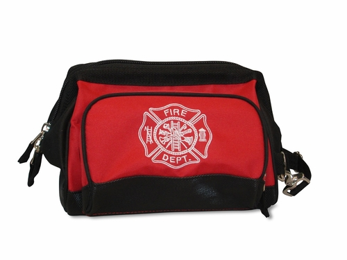 Lightning X LXFB15AP Premium All-Purpose Wide Mouth Toiletry/Personal Tool Bag - RED