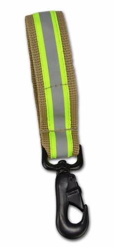 Lightning X LXFGS-HTX Premium Heavy-Duty Nylon Fire Glove Strap - TURNOUT TAN