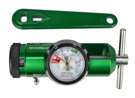 Lightning X LXO2R-M Oxygen Regulator - GREEN